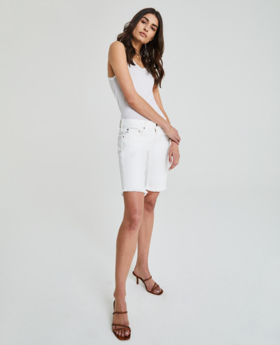 Nikki White Short by AG