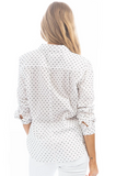Polka Dot Classic Blouse by Dylan