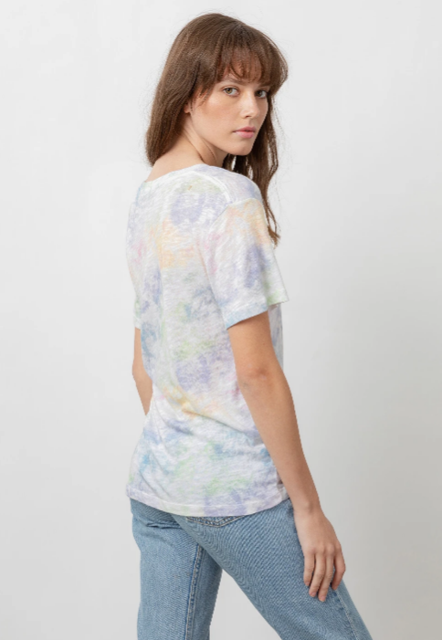 The Cara V Neck Tee by Rails