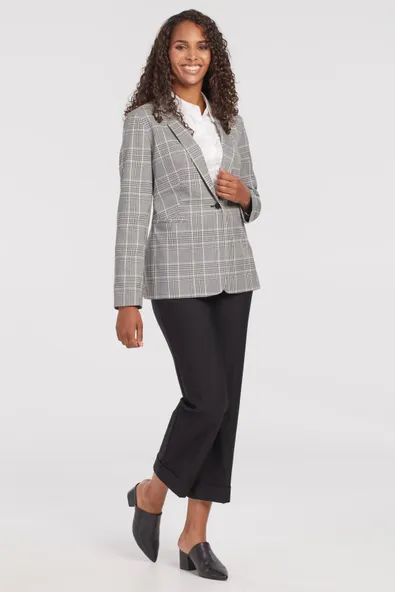 Patterned Blazer