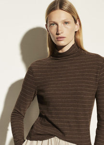 Hazy Chalk Stripe Long Sleeve Crew