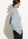 Cashmere Drop Shoulder Sweater by Vince