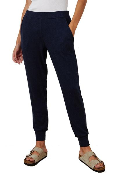 Cozy Lux Jogger in Navy by Velvet