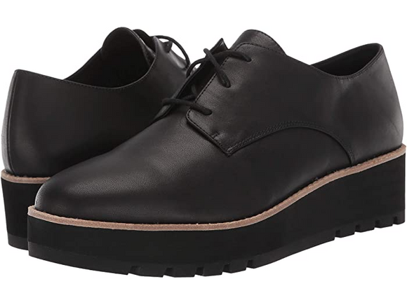 Platform Lace Up Shoe by Eileen Fisher