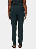 Washable Crepe Slim Ankle Pant by Eileen Fisher