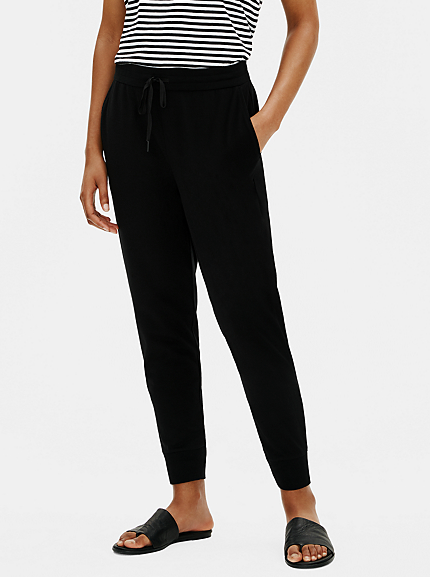 Organic Cotton Stretch Jogger Pant