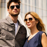 Cecil 56MM Aviator Sunglasses