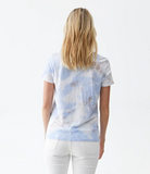 Colleen Crystal Washed Vintage Jersey Tee