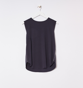 Organic Cotton Jersey Crew Neck Tank