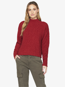 Teddy Mock Sweater