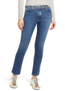 Mari High Rise Straight Jean