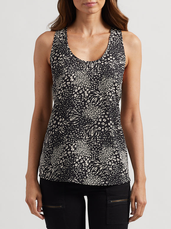Alicia Animal Patchwork Shell Tank