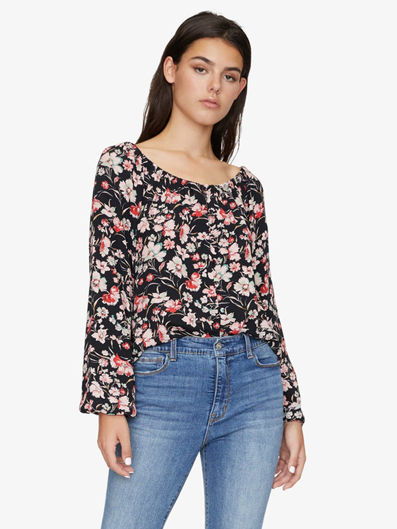 Genevieve Floral Print Blouse