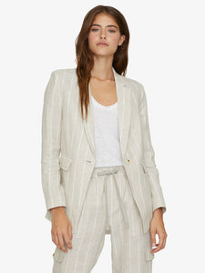Eastport Stripe Linen Blazer