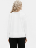 Organic Cotton Stretch Crew Neck Box Top