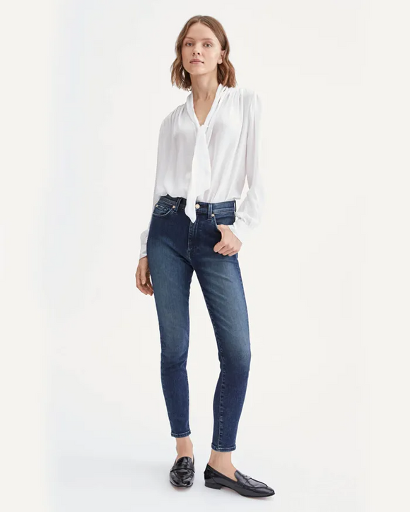 The Aubrey High Rise Skinny Jean by 7's