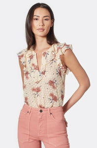 Eddison Silk Ruffle Top