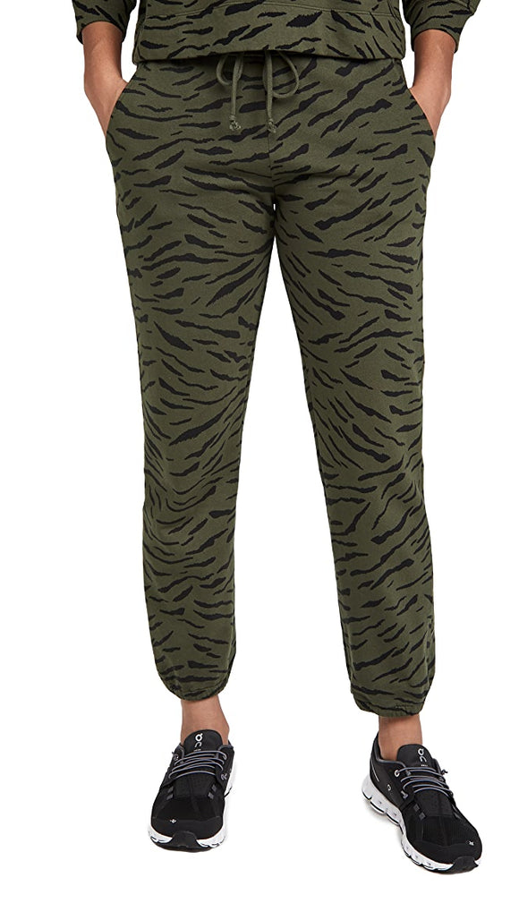 Zebra Fleece Pant