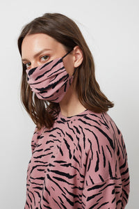 Viena Printed Face Mask