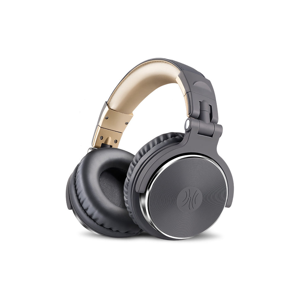 OneOdio Over Ear Headphones, Studio DJ Headphones, HiFi Wired Headset 50mm Driver, Foldable Lightweight Headphones Shareport Mic Recording Monitoring Podcast PC TV Sony/JBL/Beats/Sennheiser/AKG/Bose/DOQAUS