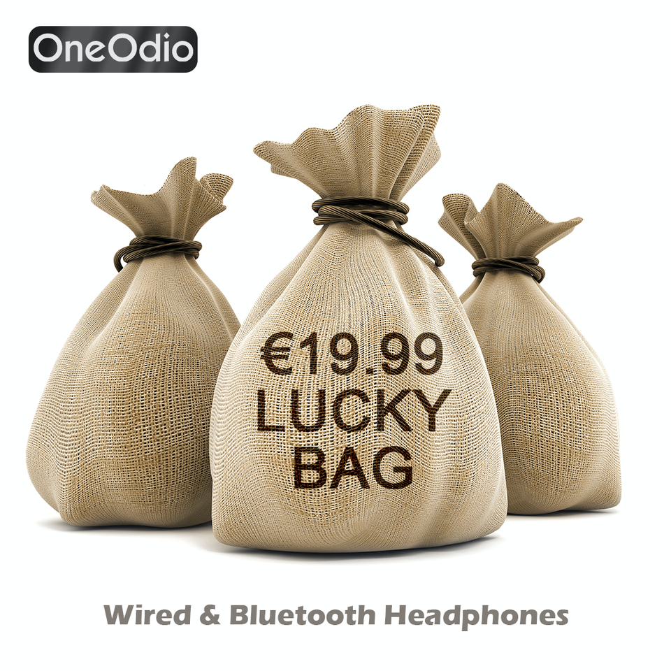 LUCKY BAG para Auriculares con cable u Bluetooth