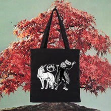 Load image into Gallery viewer, VAMPIRE UNICORN TOTE BAG