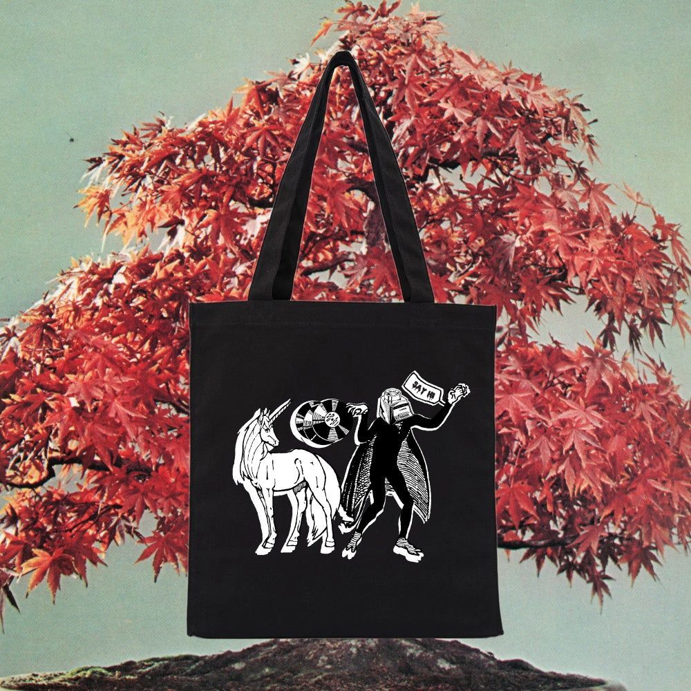 VAMPIRE UNICORN TOTE BAG