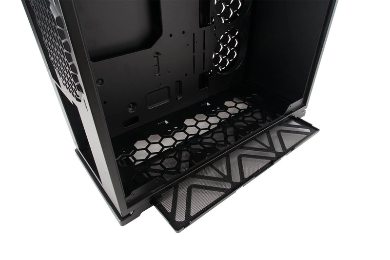 101 RGB ATX Mid Tower Gaming Computer Case with Tempered Glass