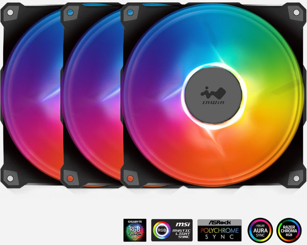 Jupiter Addressable RGB Fan AJ140 Triple Pack (140mm)