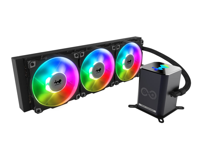 SR36 PRO - 360mm Addressable RGB Twin Turbine AIO