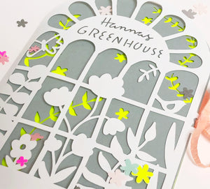 Greeting Card GREENHOUSE