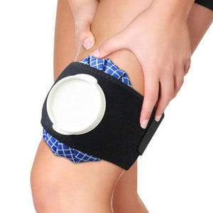 BRACOO IA81 Thermal Therapy Belt - For Joint and Muscle (with 6 Inch Ice Hot Bag)