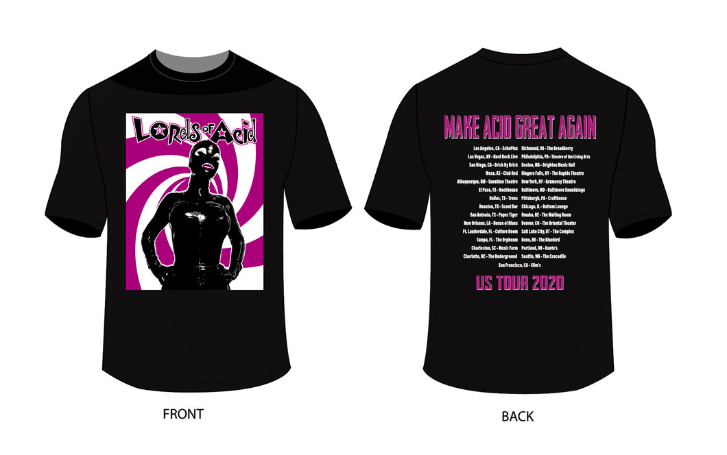 Lords Of Acid Rubber Tee