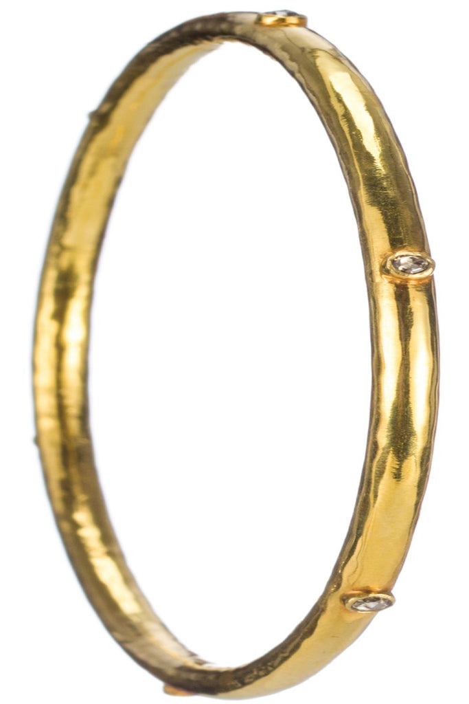 PADMAKSHI BANGLE - GOLD AND DIAMOND BANGLE