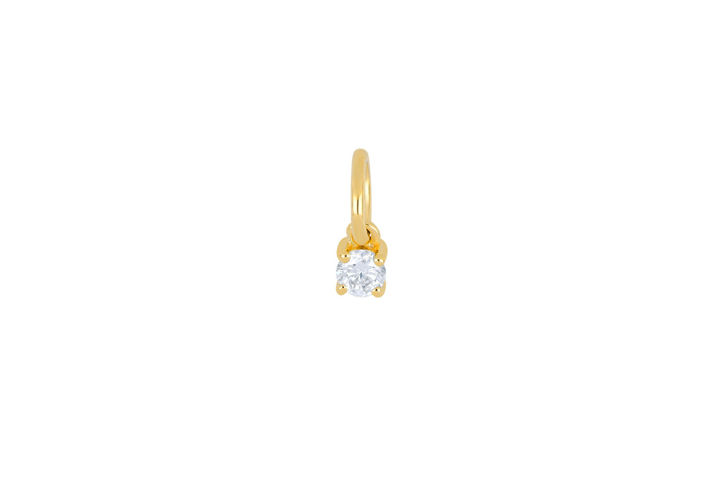 14K DIAMOND BIRTHSTONE CHARM