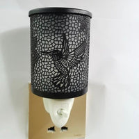 Hummingbird Mini Wall Plug In Warmer- Black