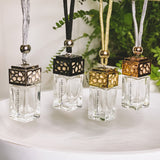 Gold Hanging Cubic Fragrance Oil Diffuser 10ml