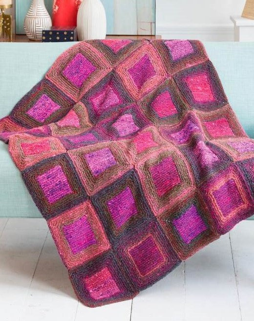 Square in a Square Blanket