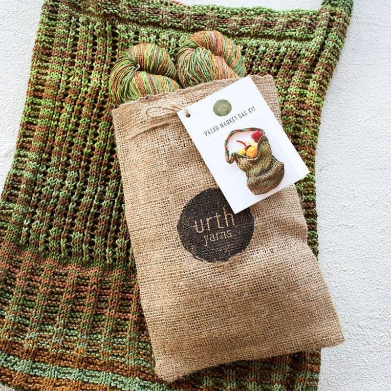 Pazar Market Bag Kit - Knit