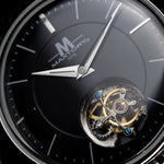 1976 Tourbillon, Real Flying tourbillon Watch, Mechanical Movement, 50 m Water-Resistant, Stainless Steel.
