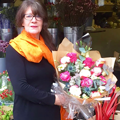 This is Delia our florist
