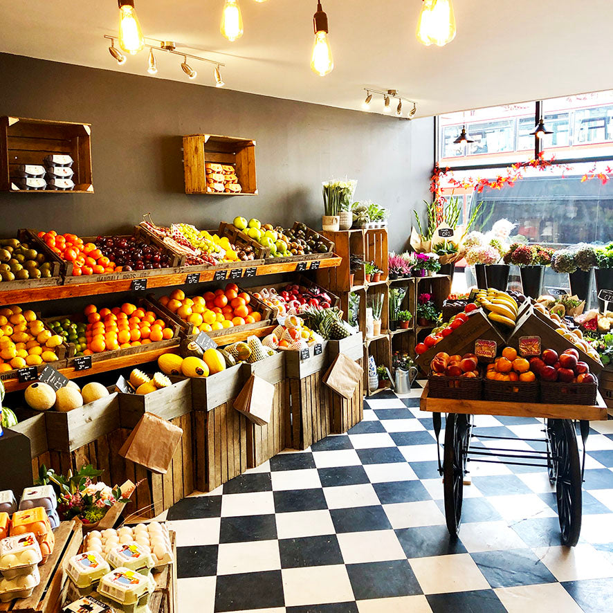 Our new greengrocers on Muswell Hill