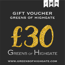 Load image into Gallery viewer, Greens of Highgate Gift Voucher