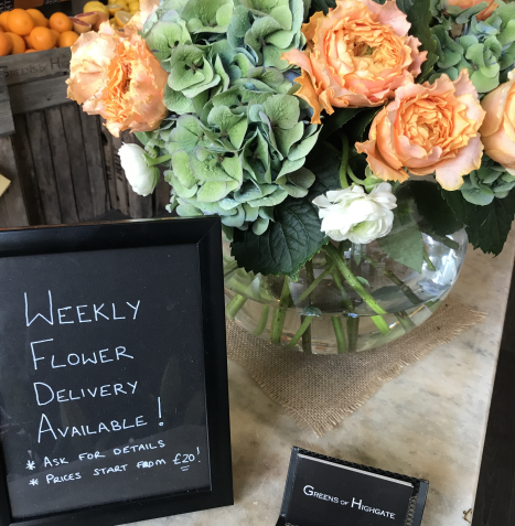 Weekly Flower Delivery
