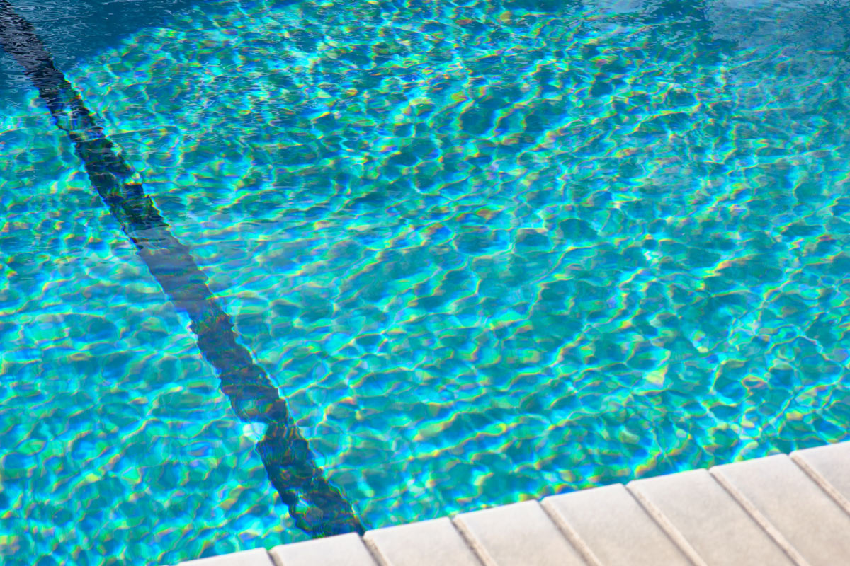 Thunderbird Hotel, Marfa - close up of hotel pool