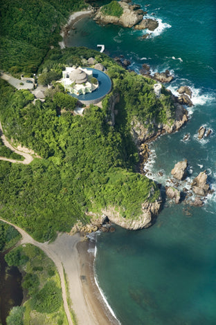 El Careyes Club & Residences, Costa Careyes - bird's eye view of a cliffside resort surrounded by greenery and the ocean