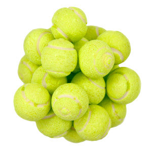 Tennis Sour Powder Filled Gumballs