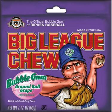 Big League Chew - Ground Ball Grape