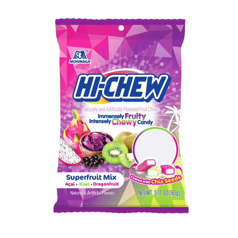 Hi-Chew Super Fruit Combo 3.17 oz Peg Bag