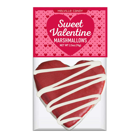Red Velvet Marshmallow Heart Hot Cocoa Topper